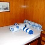 Oberdeck Doppelbett