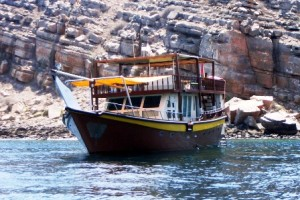 Brown Dhow Oman 1