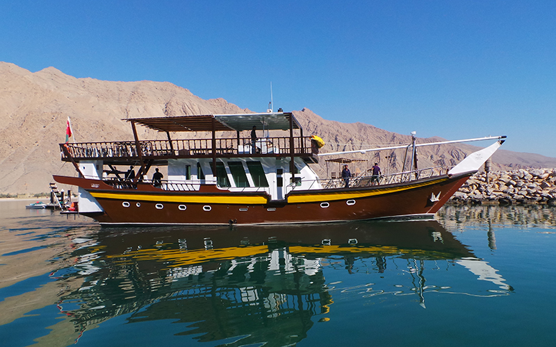 Tauchsafarischiff Brown Dhow 1