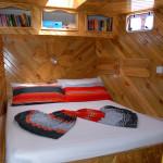 Kefi Doppelbett Kabine
