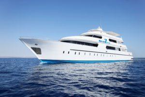 Seitenansicht Rechts Tauchschiff Seven Seas
