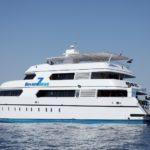 Seitansicht Safariboot MY Seven Seas
