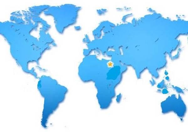 Worldmap_Aegypten Neuheiten 2014