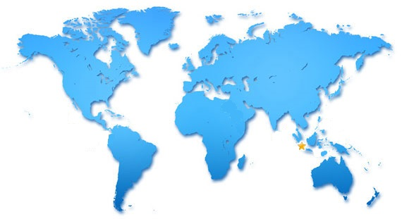 Worldmap_Bali Neuheiten 2014