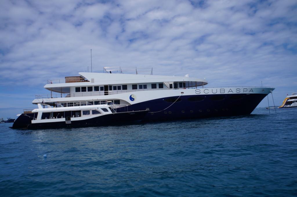 Tauchschiff Scuba Spa Yang DSC04576