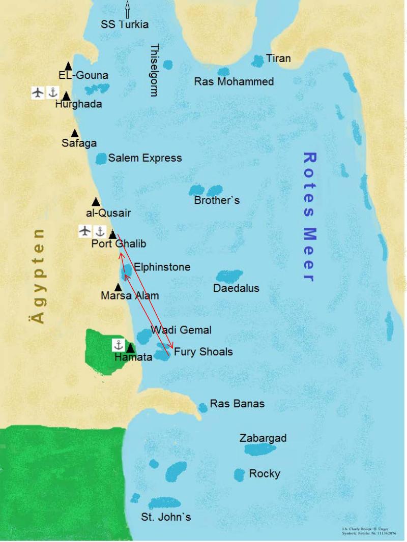 Routen Agypten Tauchsafari Tauchreisen Tauchurlaub