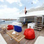 Loungebereich Safrischiff Blue Pearl