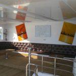 Loungebereich Safariboot Seawolf Dominator