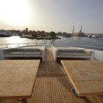 Sonnendeck Tauchschiff Blue Pearl