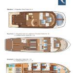 Kabinenplan Tauchschiff Independence 2