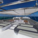 Rückseite Skydeck Safarischiff MY Blue Seas