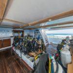 Tauchdeck Safarischiff Blue Seas