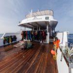 Tauchplattform Tauchschiff MY Blue Seas