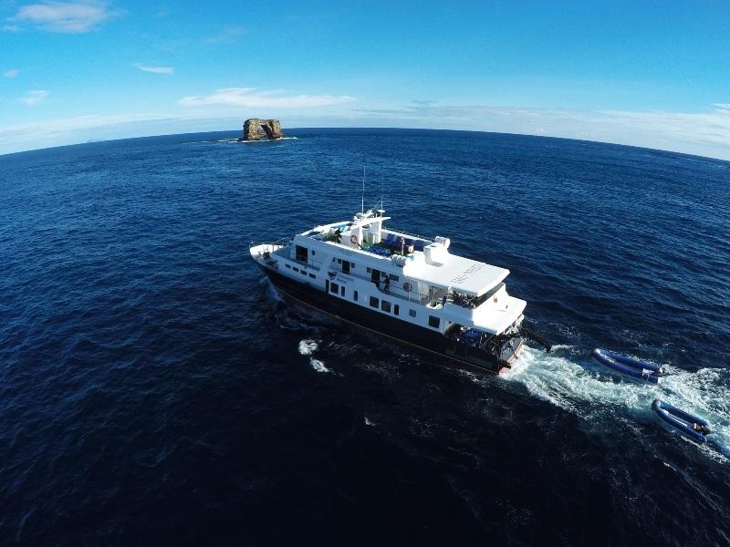 Schiff Darwin Inseln Galapagos Master