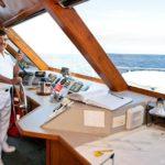 Brücke Tauchschiff Galapagos Aggressor