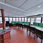 Briefing-Bereich Safarischiff MY Carpe Novo