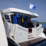 Tauchbereich Dhoni Safarischiff MY Carpe Diem