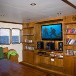 Entertainment-Bereich Tauchschiff MY Carpe Vita