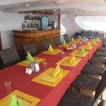 Essbereich Safariboot Carpe Diem