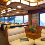 Essbereich Tauchschiff Galapagos Aggressor
