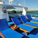 Liegefläche Sonnendeck Galapagos Aggressor