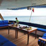 Lounge Safariboot Galapagos Aggressor