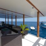 Lounge-Bereich Tauchschiff Nautilus Two