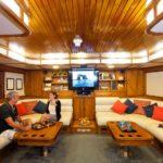 Salon Tauchboot Galapagos Aggressor