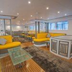 Loungebereich Salon Safariboot MY Samira