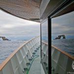 Aussicht Darwin Inseln Tauchsafariboot Galapagos Aggressor