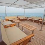 Sonnendeck Safarischiff MY Samira