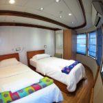 Twinkabine Hauptdeck Safarischiff Emperor Virgo