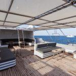 Sonnendeck Safarischiff Golden Dolphin 1