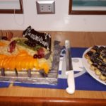 Buffet Dessert Tauchboot Ocean Window