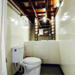 Badezimmer Safariboot Eco Blue