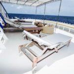 Sonnendeck Tauchschiff Eco Blue
