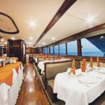 Restaurant Tauchsafariboot Galapagos Sky