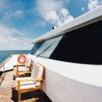 Außenbereich Tauchschiff Galapagos Sky