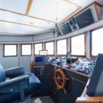Brücke Safarischiff MV Argo