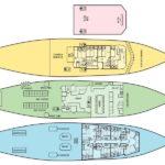 Deckplan Safarischiff Okeanos 1