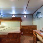 Doppelkabine Safarischiff MV Argo