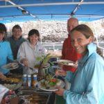 Outdoor Essbereich Safariboot Okeanos 1