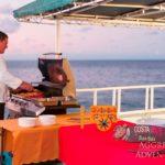 Outdoor Grillbereich Safarischiff Okeanos 2