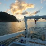 Sonnenaufgang Tauchschiff MV Argo