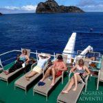 Sonnendeck Tauchschiff Okeanos 1