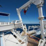 Tauchdeck Tauchboot MV Argo