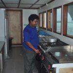 Küche + Koch Tauchsafarischiff MV Keana