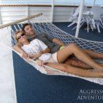 Sonnendeck Tauchschiff Palau Aggressor