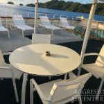 Sonnendeck Safariboot Palau Aggressor