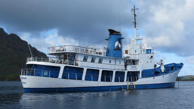 Tauchschiff SS Thorfinn